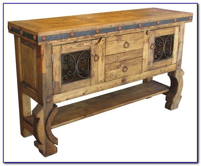 Mexican style buffet furniture furniture designs for Mexican furniture
