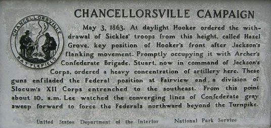 Battle of Chancellorsville | Battle of Chancellorsville: Summary