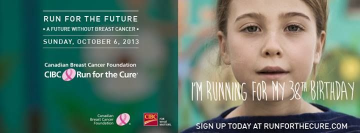 Join Dianes Lingerie's Breast of Friends in Vancouver, British Columbia for the CIBC Run for the Cure on Sunday, Oct 6, 2013.