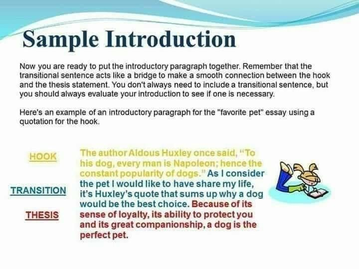 Pin By Sana Azhary On English Topic Introductory Paragraph Essay Writing Introduction For An