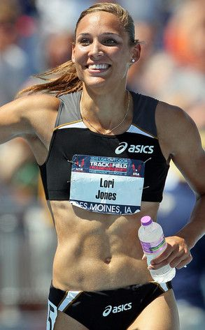 Hurdling Olympian Lolo Jones. Honors God and her future husband by saving herself for marriage and rocking it at hurdles.