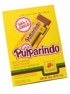 Pulparindo - Tamarind Mexican Candy by De La Rosa $3.50
