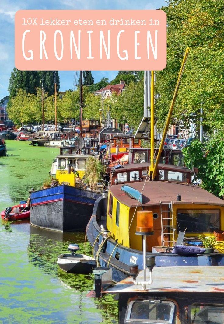 10x lekker eten en drinken in Groningen.