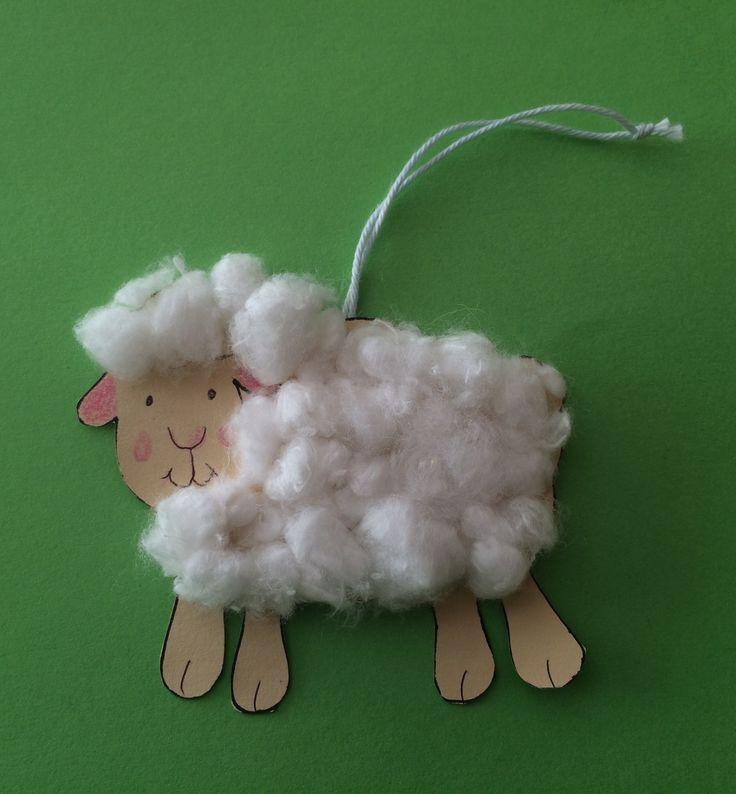 Húsvéti bárány dísz