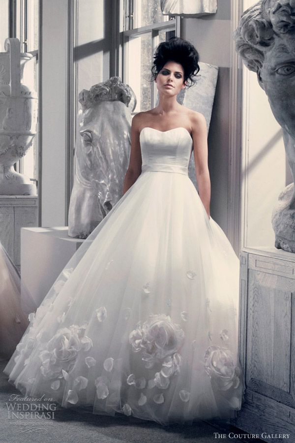 the couture gallery wedding dresses 2012 2013 juliette ball gown