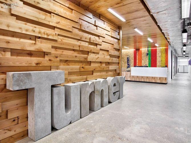 Project Turner Construction Company Firm Gensler Dallas Location Dallas Texas Office Interior Design Commercial Interior Design Office Signage