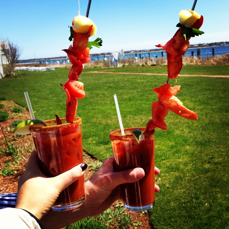 White elephant, Bloody mary and Lobsters on Pinterest