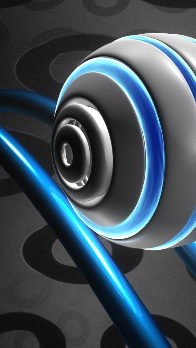 Abstract 3D iPhone 8 Wallpaper  Best iphone wallpapers, Iphone