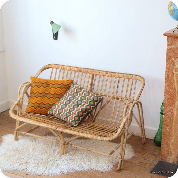 les 25 meilleures id es de la cat gorie rotin sur. Black Bedroom Furniture Sets. Home Design Ideas