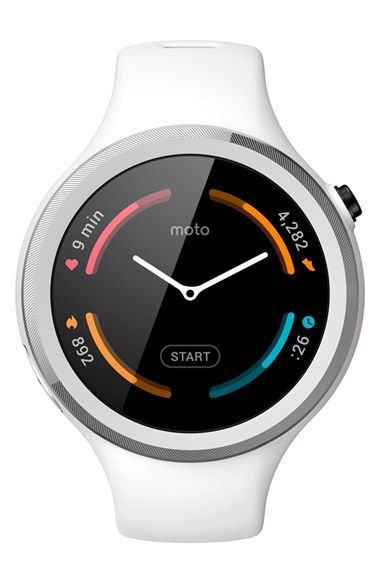 Motorola 'Moto 360 2nd Gen' Sport Watch, 45mm available at #Nordstrom