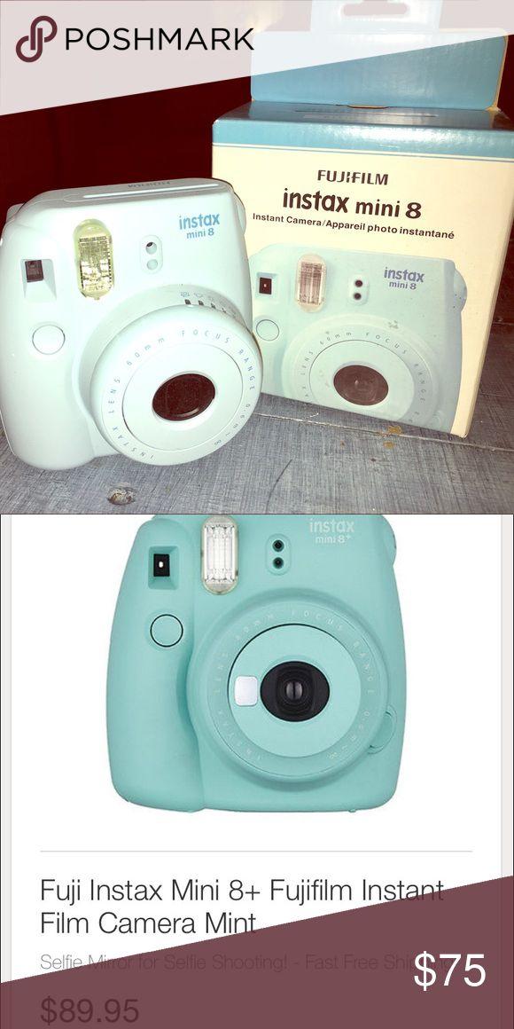Instax Fujifilm mini 8 Take some polaroids! Still in box, never used. Light turquoise color. It's the fujifilm instax mini 8. Film can be found on amazon for cheap. fujifilm  Other