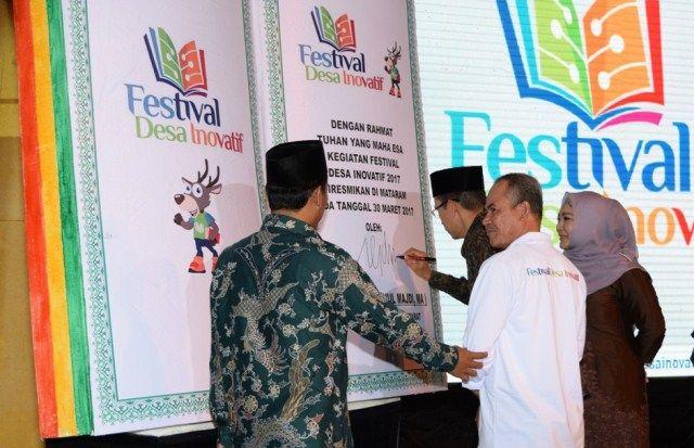 Melalui Festival Inovasi Desa 2017 diharapkan akan lahir dan muncul berbagai inovasi dari desa, yang kemudian berkembang menjadi potensi untuk pemberdayaan