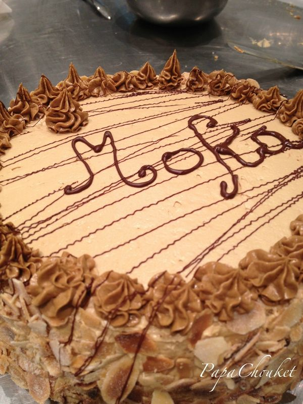 Le Moka (recette CAP)