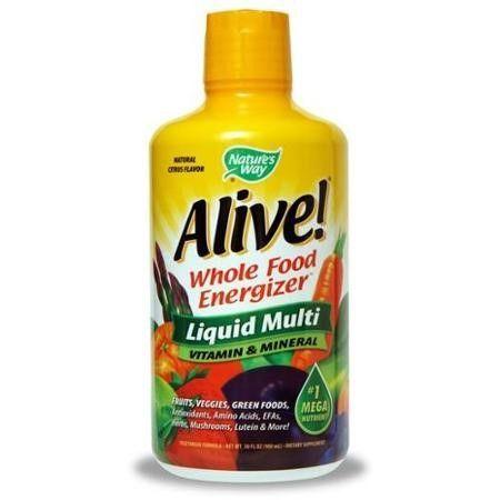 Nature's Way Alive! Liquid Vitamin 30 Ounce   Jet.com