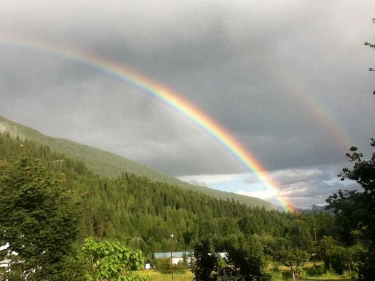 Somewhere under the rainbow ...