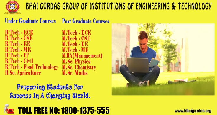 Take admission in Engineering Course & get a step closer to your #dreams Bhai Gurdas offers a wide range of Engineering Courses. For #Admission_Process Call: 1800-1375-555. Or Visit: www.bhaigurdas.org  #Best #College #Graduation #Courses #Engineering #post_graduation #Batch2017_18