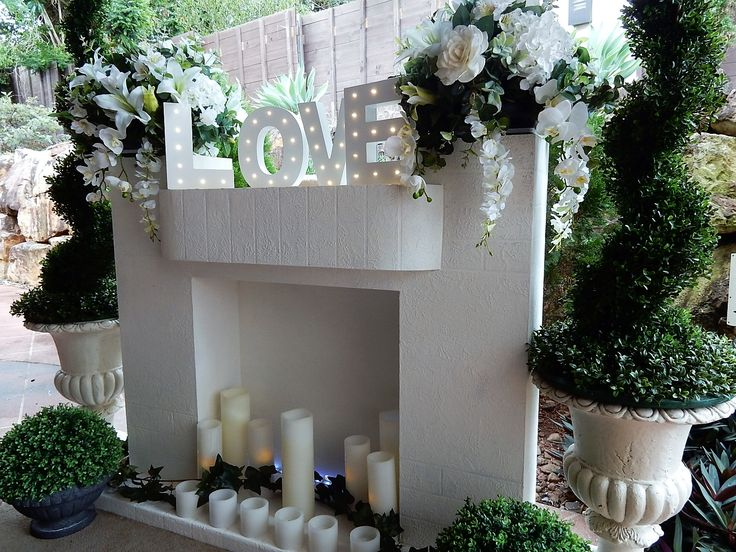 588 best wowyourguests images on pinterest event decor wedding e1eff1cf7c13528d4ee77f45d77768d0 wedding fireplace white mantelg junglespirit Images