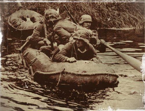 traversée de la Meuse en 1940