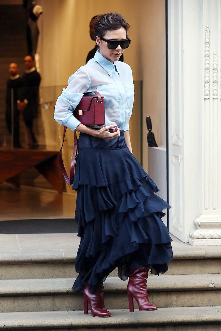 Виктория Бекхэм в Лондоне
