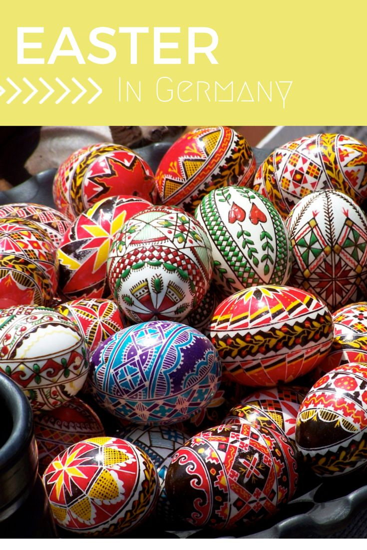 Ever wondered how Germans celebrate Easter? We have some quirky traditions. Hint, they involve a of colour and some degree of painting skills.