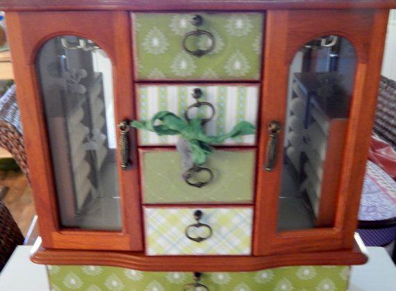Custom Jewelry Boxes Jewelry Storage by SunsetblondieDesigns