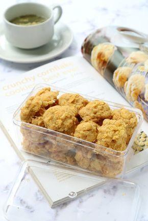 Dapur Miranti: Crunchy cornflake Cookies