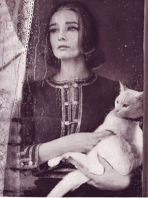 Audrey Hepburn photographed by Richard Avedon for Harper's Bazaar, September 1959.