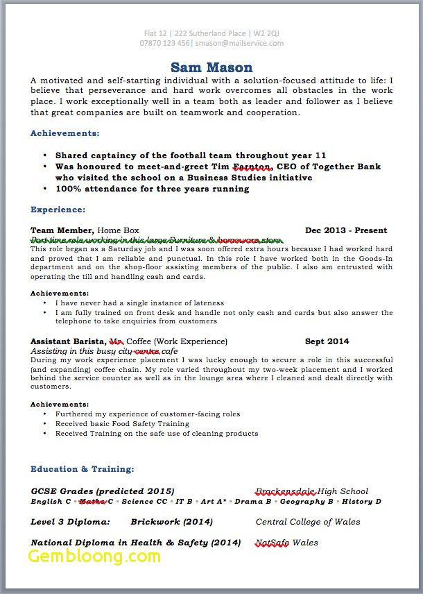 Cv Template Just Leaving School Resume Format Student Resume Template Cv Template Student Cv Template