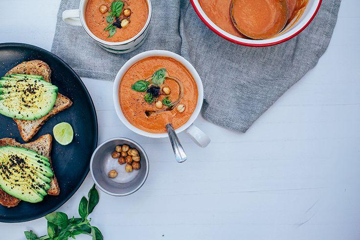 easy tomato soup // @thefirstmess