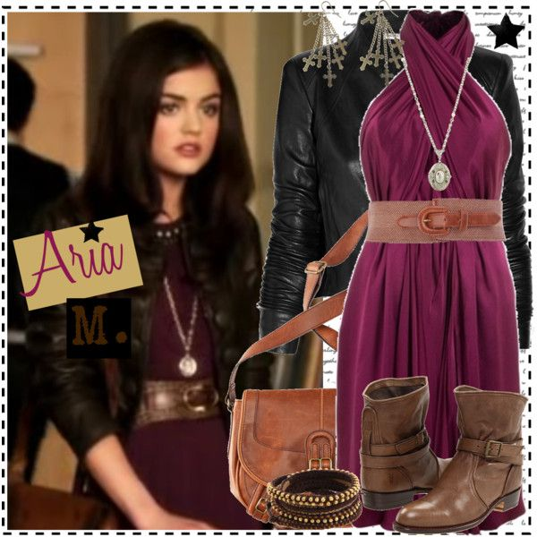 U0026quot;Aria 1.1cu0026quot; by silver-screen-style on Polyvore | Aria Montgomery Style | Pinterest | Aria ...