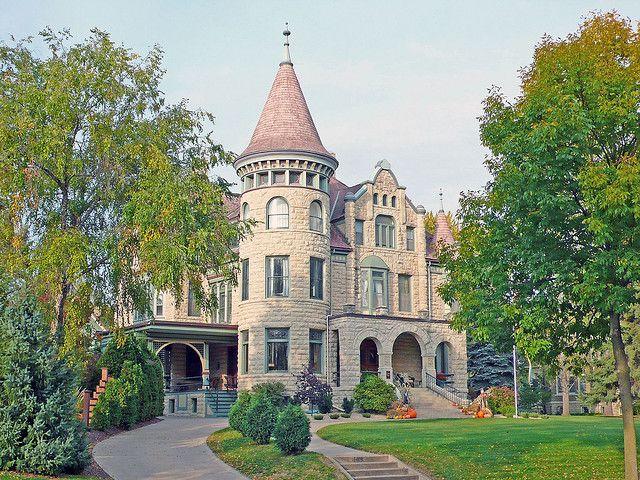 The Castle on Cass Street, La Crosse, Wisconsin