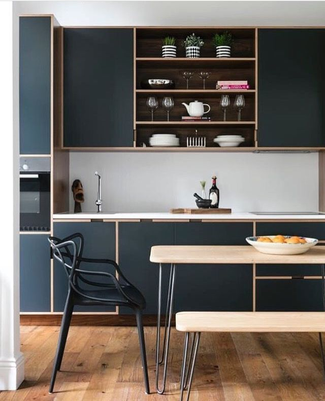 1398 best moderne Küchen images on Pinterest Kitchen modern - hochglanz weiss modernen apartment