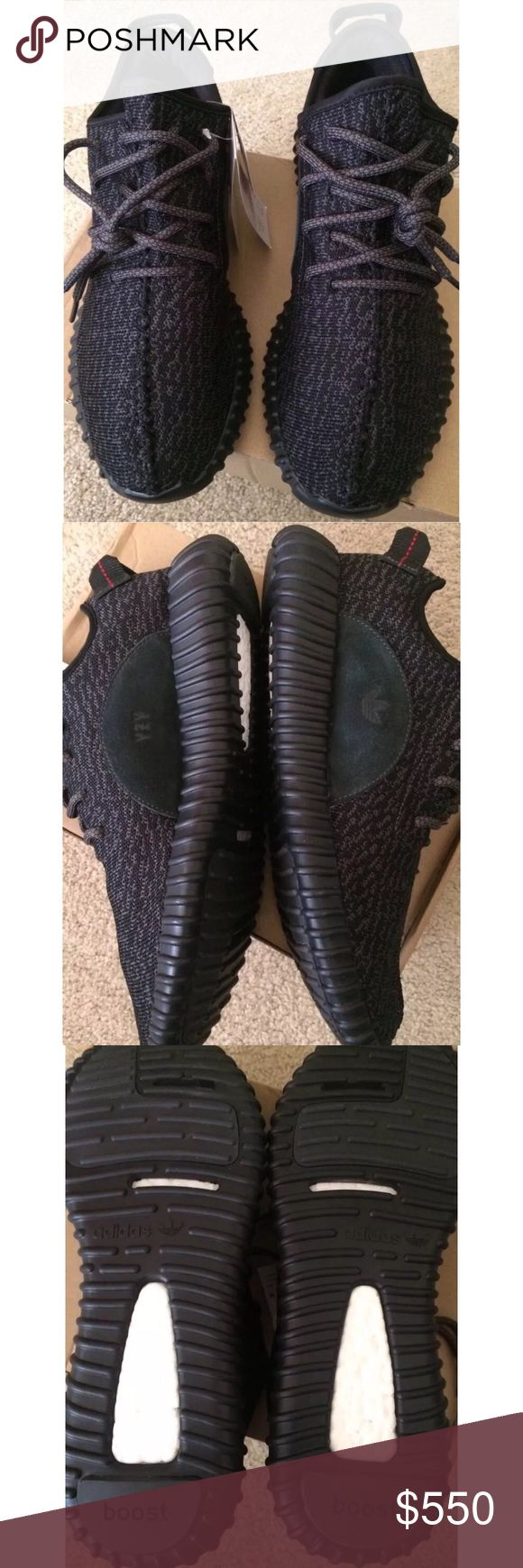 Yeezy Boost 350 Pirate Black Men's 7 Women's 9 Yeezy Boost 350 Pirate Black Men's 7 Women's 9! Great price! These retail at $1500! Yeezy Shoes Sneakers