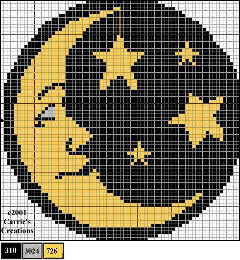 simple cross stitch stars - Google zoeken