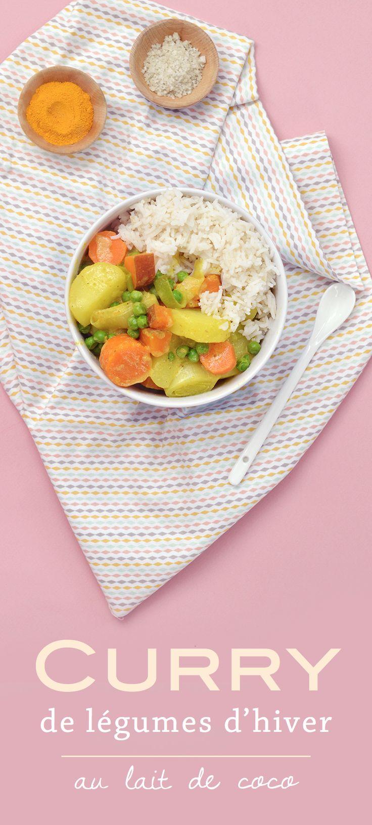 L'avantage du curry de légumes : il n'y a pas de règles ! On peut le cuisiner selon nos envies et avec les légumes qu'on trouve au marché ! Voici ma version vegan et sans gluten au Vitaliseur !