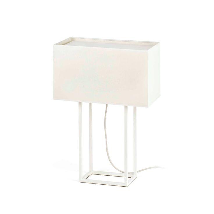 Lámpara para mesa Beige de estilo rústico #decoracion #iluminacion #interiorismo #diseño #lamparas #lamparasmesa #lamparasbonitas