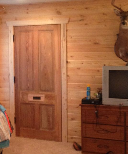 This picture was submitted by Beth Waldrop Addison - salvaged door from Southern Accents Architectural Antiques