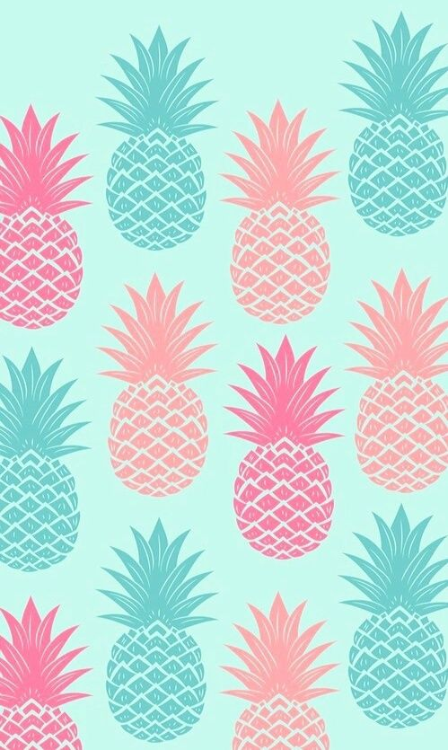 Imagen de wallpaper, pineapple, and background