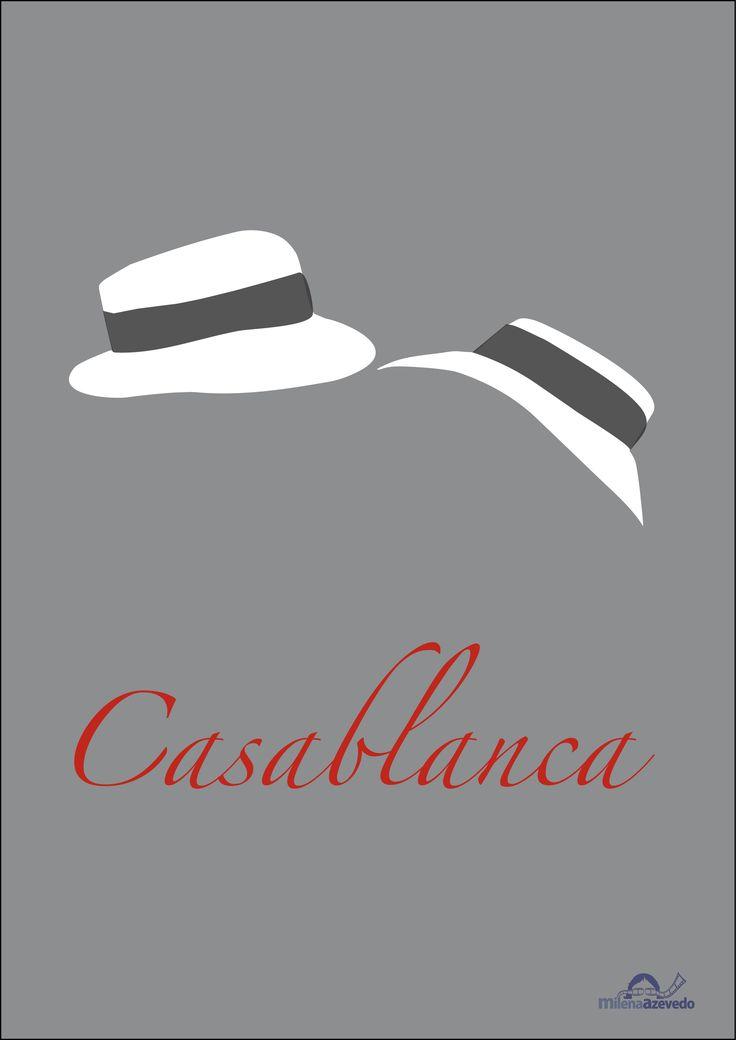 Casablanca minimalist poster     Minimalist art 13 by  milenaazevedo.deviantart.com on @deviantART