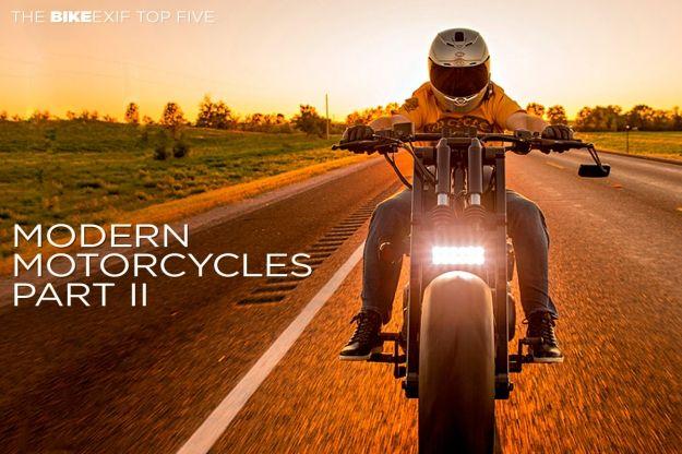 Top 5 Modern Motorcycles Part II | Bike EXIF #Cars-Motorcycles