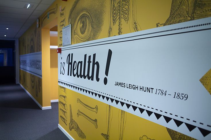 Wall graphics for Arseus Medical, by Soon