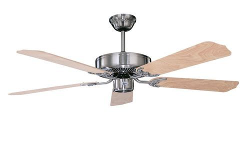 Calli 52 Inch 5 Blade Stainless Steel Ceiling Fan - 52CH5ST