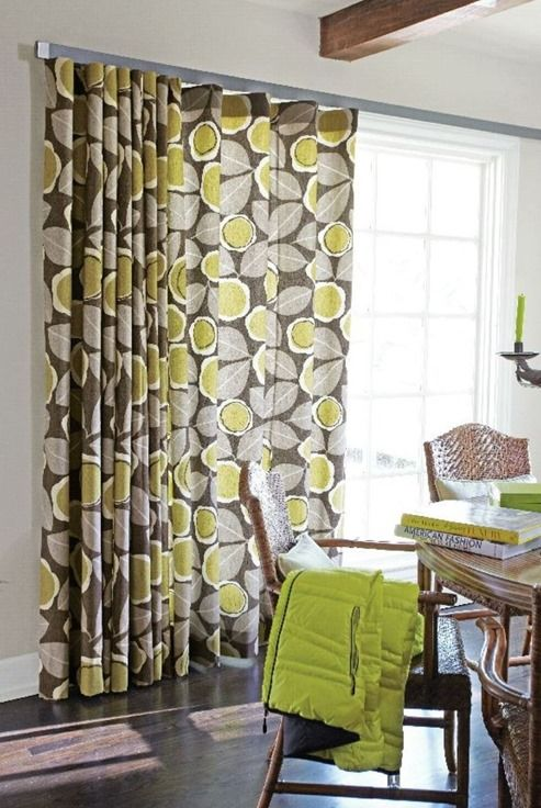 Window Treatments for Sliding Doors - Centsational Girl