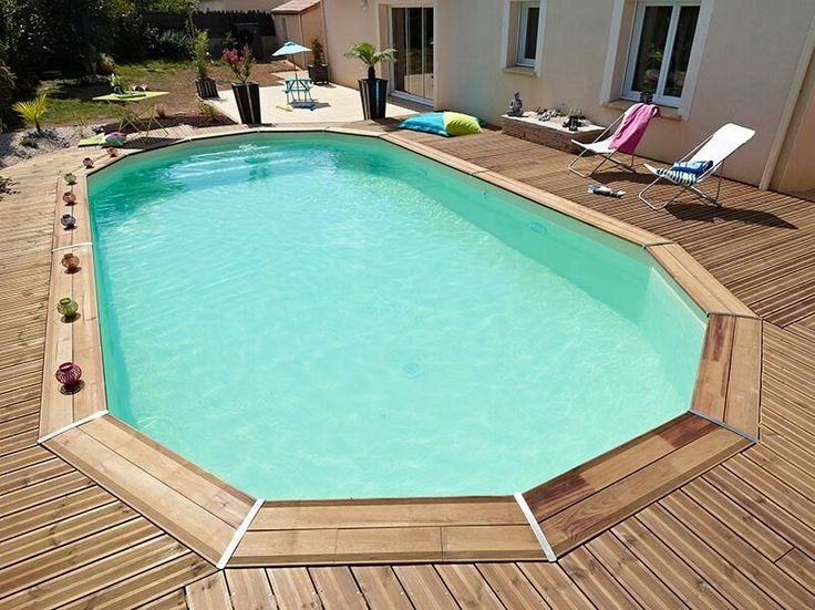 1000 id es propos de piscine bois sur pinterest. Black Bedroom Furniture Sets. Home Design Ideas