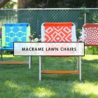 94 best Crafts - Chairs - Macrame / Woven images on Pinterest ...