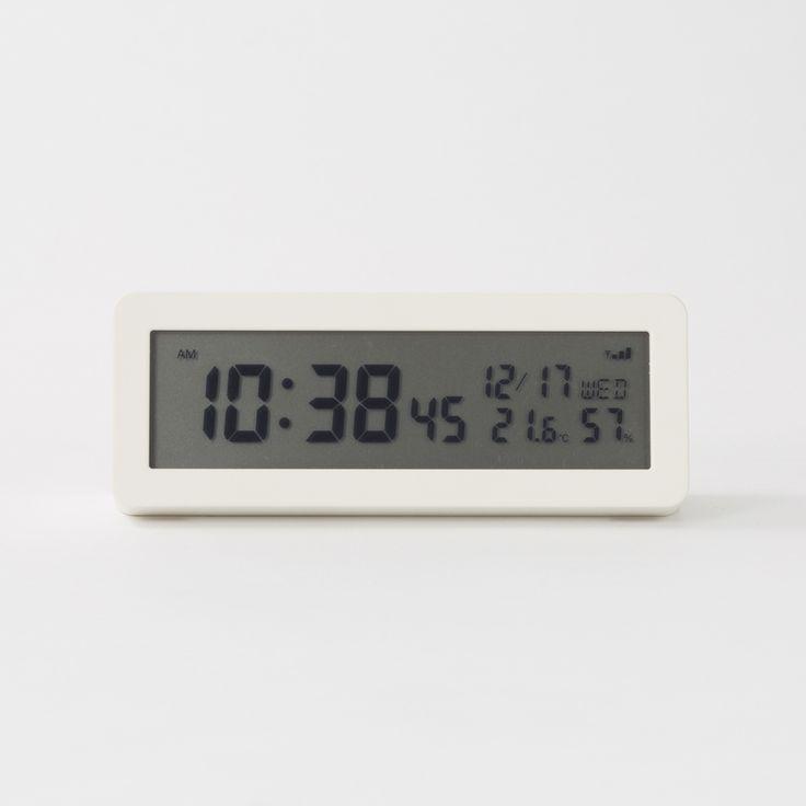 デジタル電波時計(大音量アラーム機能付)