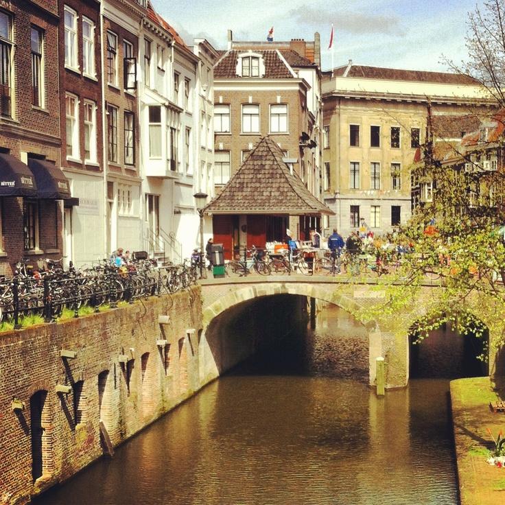 Beautiful canals- Utrecht holland