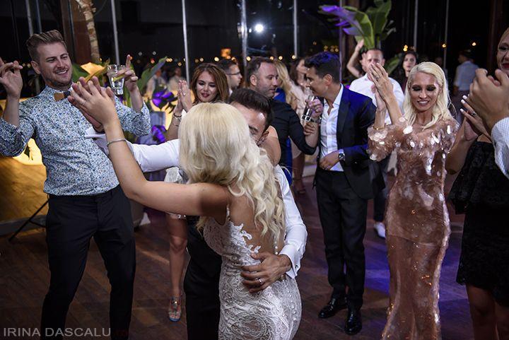 Balux Prive Reception - Destination Wedding - Glyfada, Greece - Beach Wedding Photography