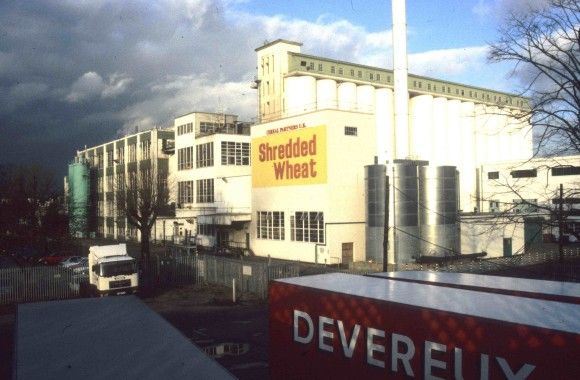 Shredded Wheat Factory Nabisco Welwyn Garden City C Elain Harwood Wgc Shredded Wheat