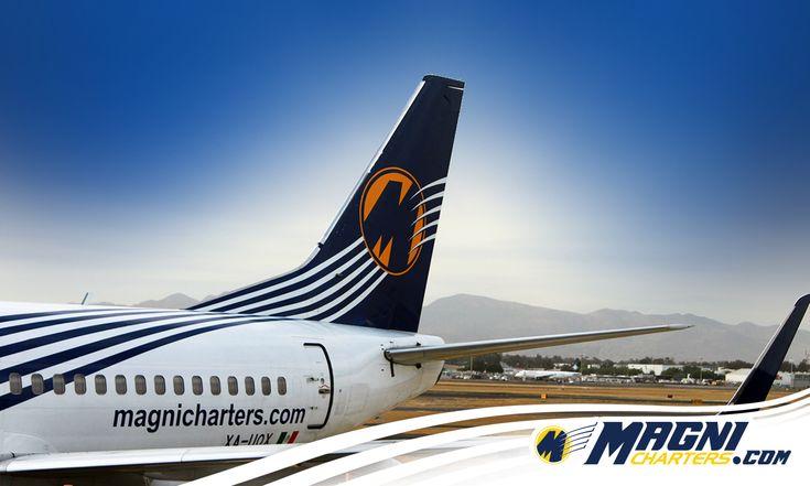 ¡Nos vamos a volar!  #Magnicharters #B737